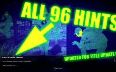 Ghost Recon: Wildlands HINTS – All 96