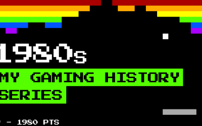 My gaming history – The 80's