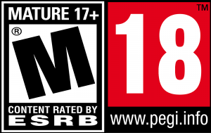 PEGI 18 / ESRB M rating
