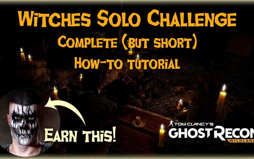 Season 3 Witches Challenge Tutorial