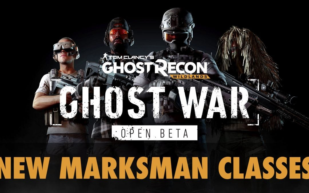 Ghost War Open Beta – new Marksman classes (Sniper and Enforcer)