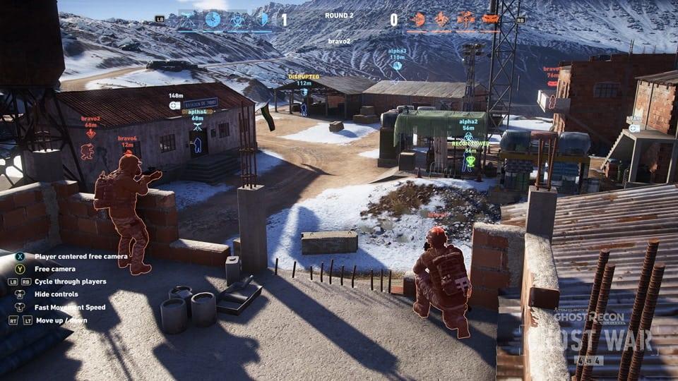 Observer Mode in Ghost War